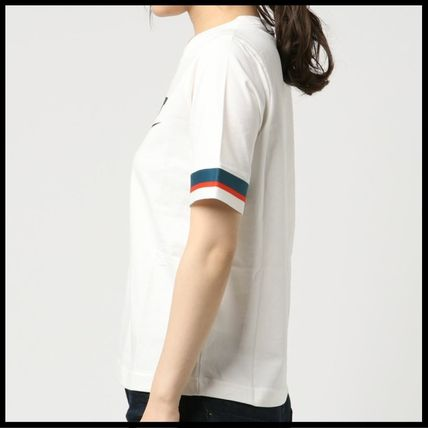 Nike Tシャツ・カットソー 国内発送・正規品★人気!NIKE ナイキ 袖ラインロゴ Tee★WHITE(5)