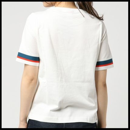 Nike Tシャツ・カットソー 国内発送・正規品★人気!NIKE ナイキ 袖ラインロゴ Tee★WHITE(6)