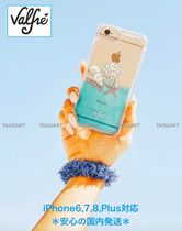 【Valfre】Shell Yeah iPhoneケース☆リキッド クリアブルー☆