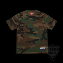 SS18 SUPREME ATHLETIC LABEL S/S TOP WOODLAND CAMO 送料無料