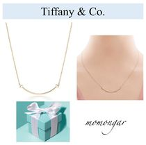 1点のみ! 国内発送☆[Tiffany & Co.] T smile pendant 18k gold