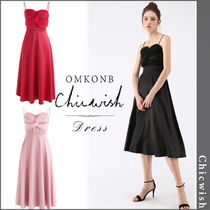 【国内発送・関税込】Chicwish★Silkiness Sweetheart CamiDress