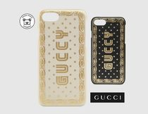 GUCCI★グッチ iPhone ケース セガフォント 星 GUCCY