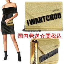 Jimmy Choo Candy 2WAY BOXチェーンバッグ★送関込