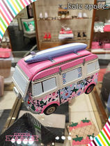 コインケースkate spade california dreaming 3d van coin purse