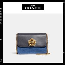 日本限定【Coach】Bowery CrossBody With Tea Rose TURNLOCK