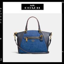 日本限定【Coach】Prairie Satchel  2way Denim 28900