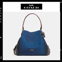 日本限定【Coach】Edie Shoulder Bag 31 Denim 28916
