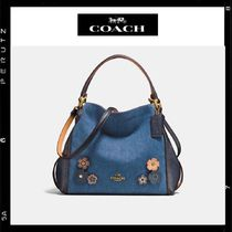 日本限定【Coach】Edie Shoulder Bag 28 With Tea Rose 28896