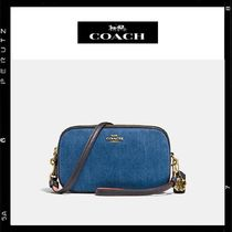 日本限定【Coach】Crossbody Clutch 2way Denim 29088