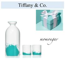 新作未入荷[Tiffany & Co] Color Splash Sake Set☆日本酒☆磁器