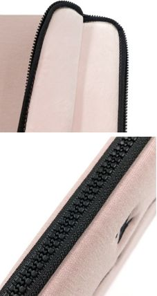 MAZZZZY スマホケース・テックアクセサリー heart laptop pouch/indi pink/blue/13インチ/2色/mazzzzy(13)