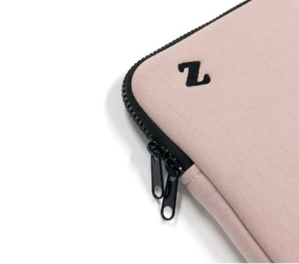 MAZZZZY スマホケース・テックアクセサリー heart laptop pouch/indi pink/blue/13インチ/2色/mazzzzy(14)
