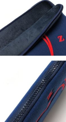 MAZZZZY スマホケース・テックアクセサリー heart laptop pouch/indi pink/blue/13インチ/2色/mazzzzy(20)