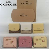 Coach*SALE*レザー*コンパクト*ミニ財布/Small Wallet