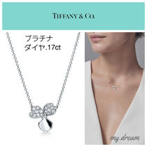 【Tiffany】Paper Flowers プラチナ☆Diamond Flower Pendant