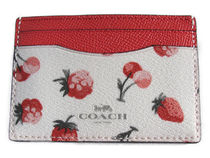 COACH Fruit Print Card Case F23678