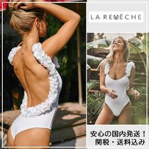 人気!!【LA REVECHE】NABILA SWIM WEAR WHITE/関税・送料込み
