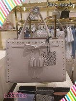 kate spade★hayes street studded sam★2Wayバック★cement