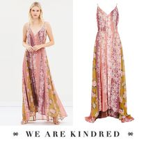 WE ARE KINDRED(ウィーアーキンドレッド) ワンピース 2018SS【WE ARE KINDRED】上品で華やかなフローラルマキシワンピ