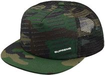 在庫ありSS18 Supreme week2 Repeat Mesh Back 5-Panel 迷彩