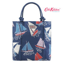 ☆Cath Kidston☆ROPE KNOT TOTE WHITBY WATERS NAVY☆