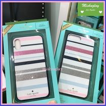 【kate spade】desert stripe iPhone7/8 Plus or X case★