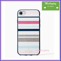 【kate spade】desert stripe iPhone 7/iPhone 8 case★