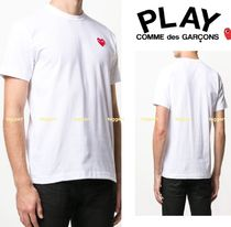 COMME des GARCONS PLAY*ハートロゴパッチ Tシャツ【送料込】
