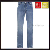 【バレンシアガ】Slim Fit Jeans Blue