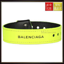 【バレンシアガ】Balenciaga Nappa Leather Bracelet Neon