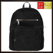 【バルマン】Medallion Embroidery Nylon Backpack OneColor