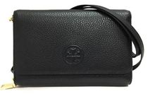【期間限定Sale】TORY BURCH BOMBE FLAT WALLET CROSSBODY 46177