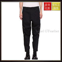 【ストーンアイランド】Reshape Gabardine Cotton Pants Nero