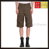 【ストーンアイランド】Convert Cotton Gabardine Shorts Verde