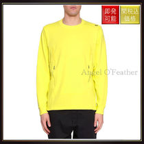 【ストーンアイランド】Flank Cotton Sweatshirt Giallo