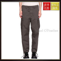 【ストーンアイランド】Cotton Gabardine Pants With Zip Verde