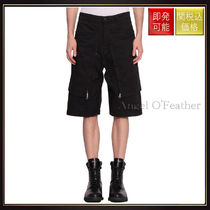 【ストーンアイランド】Convert Cotton Gabardine Shorts Nero