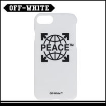OFF-WHITE Peace iPhone 7 カバー(ホワイト)