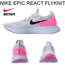 店舗限定 ! ナイキ*NIKE EPIC REACT FLYKNIT*Pure Platinum*