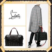 Christian Louboutin《 LOGO EMBELLISHED LEATHER HOLDALL》