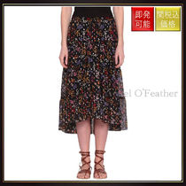 【シーバイクロエ】Printed Silk Skirt Multicolor