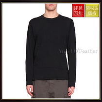 【ストーンアイランド】Flank Cotton Sweatshirt Nero