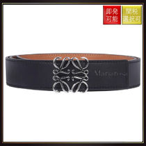 【ロエベ】Anagram Belt Black