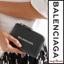 【国内発送】Balenciaga ポーチ Textured-leather pouch