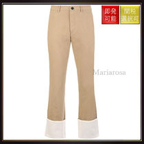 【ロエベ】Chino Pants With Turn Up Hem OneColor