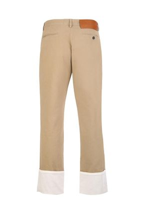 LOEWE パンツ 【ロエベ】Chino Pants With Turn Up Hem OneColor(3)