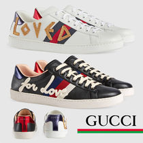 GUCCI グッチ Ace embroidered sneaker エース 刺繍 スニーカー