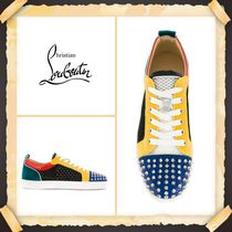 Christian Louboutin《LOUIS JUNIOR SPIKES SNEAKERS》送料込み