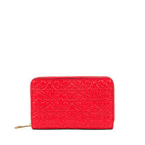 【LOEWE】Zip Card Holder Primary Red ロゴカードケース レッド